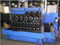 25 axis wet pumping wire drawing machine