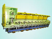 The storage line type continuous wire drawing machine